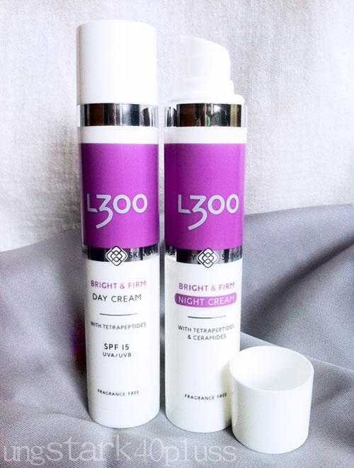 L300 Bright & Firm hudvårdsserie mot pigmentfläckar