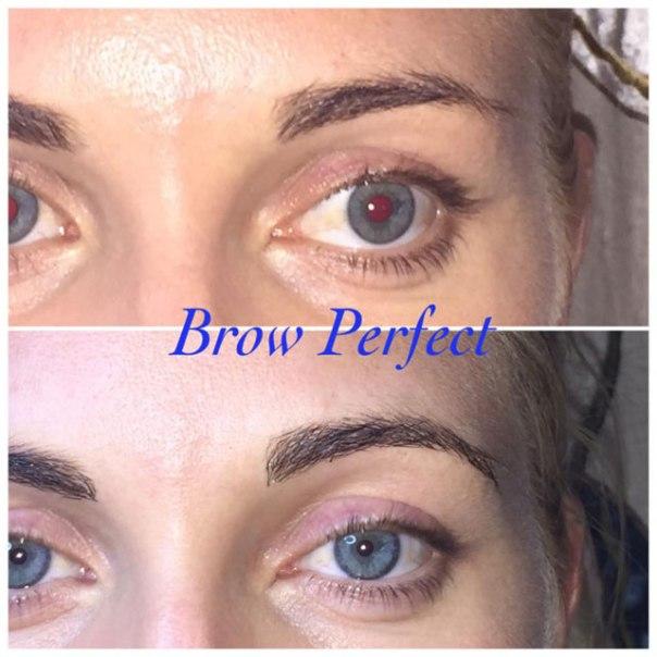 Fylligare ögonbryn med ögonbrynsförlängning, ögonbrynsutfyllnad från Lash Perfect